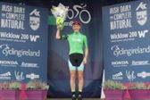 PRESS RELEASE...NO REPRODUCTION FEE...Ras na mBan 7/9/2018 Stage 2 Kilkenny - Mount Leinster Winner of the Best Irish Rider jersey Maeve Gallagher Pic : Lorraine O'Sullivan