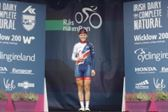 PRESS RELEASE...NO REPRODUCTION FEE...Ras na mBan 9/9/2018 Stage 6 Kilkenny- Best British rider Megan BarkerPic : Lorraine O'Sullivan